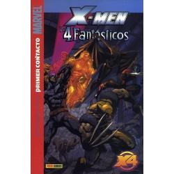 X-MEN / LOS 4 FANTÁSTICOS-PRIMER CONTACTO