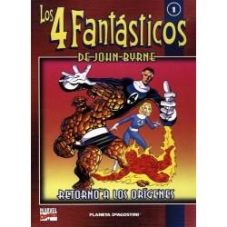 LOS 4 FANTÁSTICOS DE JOHN BYRNE COLECCIONABLE 01