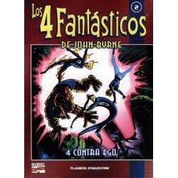 LOS 4 FANTÁSTICOS DE JOHN BYRNE COLECCIONABLE 02