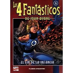 LOS 4 FANTÁSTICOS DE JOHN BYRNE COLECCIONABLE 05