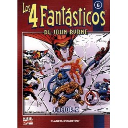 LOS 4 FANTÁSTICOS DE JOHN BYRNE COLECCIONABLE 06