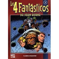 LOS 4 FANTÁSTICOS DE JOHN BYRNE COLECCIONABLE 07