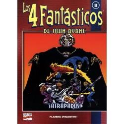 LOS 4 FANTÁSTICOS DE JOHN BYRNE COLECCIONABLE 08