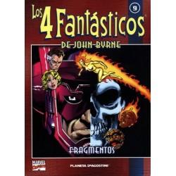 LOS 4 FANTÁSTICOS DE JOHN BYRNE COLECCIONABLE 09