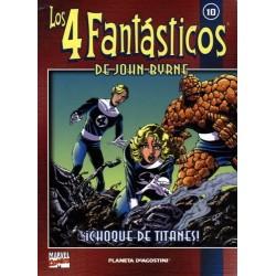 LOS 4 FANTÁSTICOS DE JOHN BYRNE COLECCIONABLE 10
