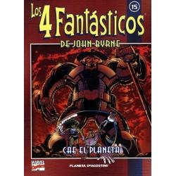 LOS 4 FANTÁSTICOS DE JOHN BYRNE COLECCIONABLE 15