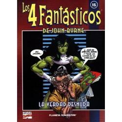 LOS 4 FANTÁSTICOS DE JOHN BYRNE COLECCIONABLE 16