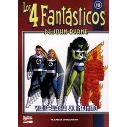 LOS 4 FANTÁSTICOS DE JOHN BYRNE COLECCIONABLE 19