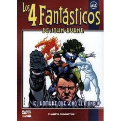 LOS 4 FANTÁSTICOS DE JOHN BYRNE COLECCIONABLE 23