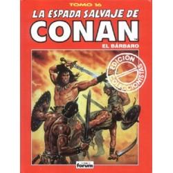 CONAN- LA ESPADA SALVAJE TAPA ROJA 16