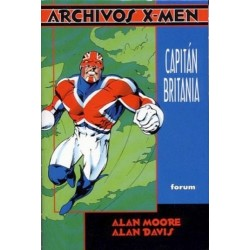 ARCHIVOS X-MEN. CAPITÁN BRITANIA