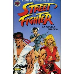 STREET FIGHTER- LA NOVELA GRAFICA- MADE IN USA 23