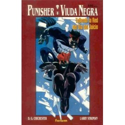 PUNISHER-VIUDA NEGRA: TEJIENDO LA RED DEL DIA DEL JUICIO