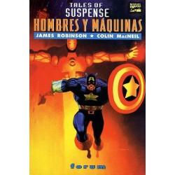 TALES OF SUSPENSE: HOMBRES Y MAQUINAS