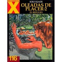 COLECCION X Nº 116 OLEADAS DE PLACER 2 EL REFUGIO