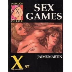 COLECCION X Nº 97 SEX GAMES