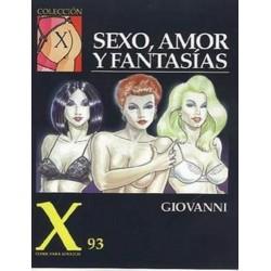 COLECCION X Nº 93 SEXO, AMOR Y FANTASIAS