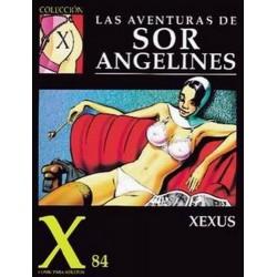 COLECCION X Nº 84 LAS AVENTURAS DE SOR ANGELINES