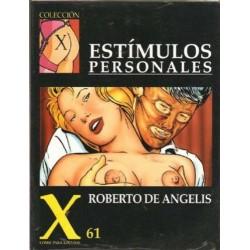 COLECCION X Nº 61 ESTIMULOS PERSONALES