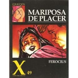 COLECCION X Nº 49 MARIPOSA DE PLACER