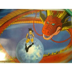 DRAGON BALL POSTER SON GOKU Y DRAGON