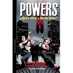 POWERS: ¿QUIEN MATÓ A RETRO GIRL?