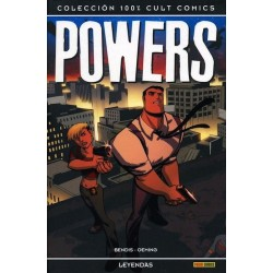 POWERS: LEYENDAS