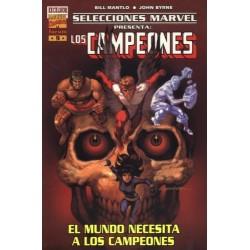 SELECCIONES MARVEL Nº 9 LOS CAMPEONES: EL MUNDO NECESITA A LOS CAMPEONES