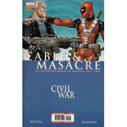 CIVIL WAR: CABLE Y MASACRE