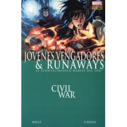 CIVIL WAR: JOVENES VENGADORES Y RUNAWAYS