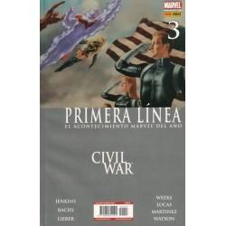 CIVIL WAR: PRIMERA LÍNEA Nº 3