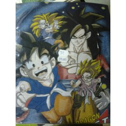 DRAGON BALL GT CAMISETA GRUPO TALLA M