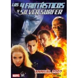 LOS 4 FANTÁSTICOS Y SILVER SURFER: ANNUAL 2007