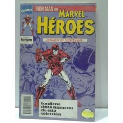 MARVEL HEROES NºS 51 A 55 RETAPADO