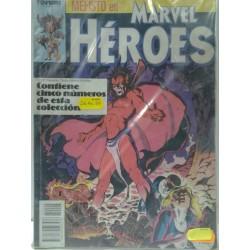 MARVEL HEROES NºS 26 A 30 RETAPADO