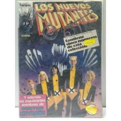 LOS NUEVOS MUTANTES NºS 21 A 25 RETAPADO