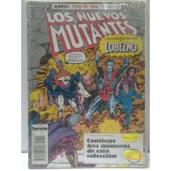 LOS NUEVOS MUTANTES NºS 45 A 47 RETAPADO