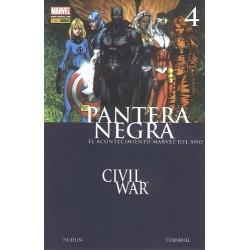 PANTERA NEGRA Nº 4 CIVIL WAR, CRÍMENES DE GUERRA