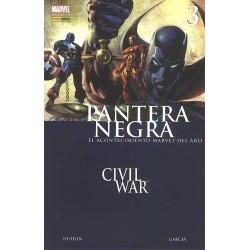 PANTERA NEGRA Nº 3 CIVIL WAR, GIRA MUNDIAL