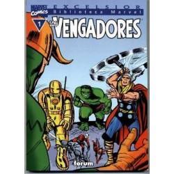 BIBLIOTECA MARVEL LOS VENGADORES 1