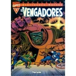 BIBLIOTECA MARVEL LOS VENGADORES 4