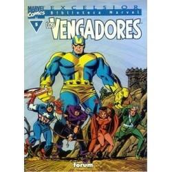 BIBLIOTECA MARVEL LOS VENGADORES 5
