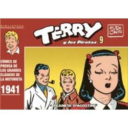 BIBLIOTECA GRANDES DEL CÓMIC: TERRY Y LOS PIRATAS Nº 9