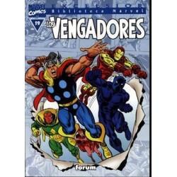 BIBLIOTECA MARVEL LOS VENGADORES 19