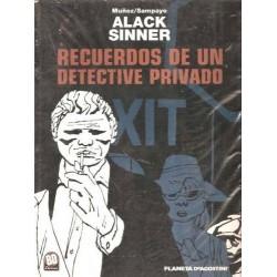 ALACK SINNER Nº 2 RECUERDOS DE UN DETECTIVE PRIVADO