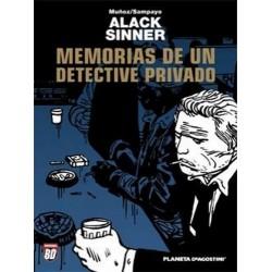 ALACK SINNER Nº 1 MEMORIAS DE UN DETECTIVE PRIVADO