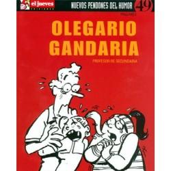 OLEGARIO GANDARIA: PROFESOR DE SECUNDARIA