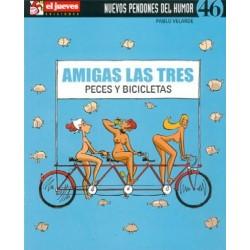 AMIGAS LAS TRES: PECES Y BICICLETAS