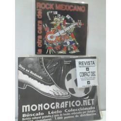 REVISTA MONOGRAFICO MAS CD LA OTRA CARA DEL ROCK MEXICANO