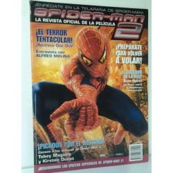 SPIDERMAN 2 REVISTA OFICIAL DE LA PELICULA